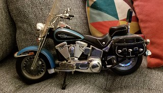 Renningers find:  1/6 scale Harley Davidson Heritage Softail Cycle