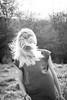DSC_0931 (B.Gim) Tags: nature hair girl mess messy fun hairflip flip cool pretty wind 35mm nikon woman smile blonde cute beautiful bokeh green d3100