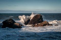 Costa cantábrica (ccc.39) Tags: asturias cantábrico castrillón playadeldiablo salinas costa espuma olas rocas sea seascape coast marejada