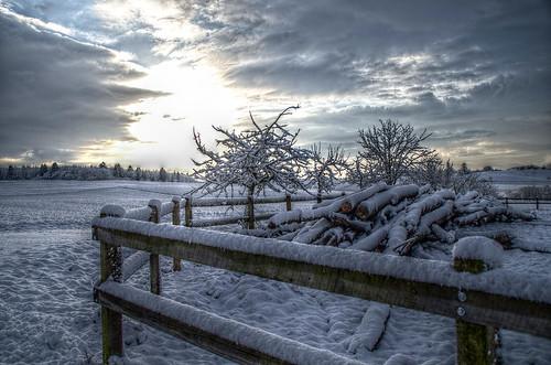 Schnee - HDR