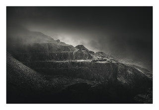 Dinorwic Quarry 23 Oct 2017