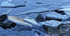 Eis (wernerfunk) Tags: wasser fluss