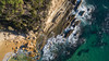 Hard landing (OzzRod) Tags: coast shore aerial sea waves headland cliff rocks dji quadcopter drone phantom3a djifc300s dailyinmarch2018