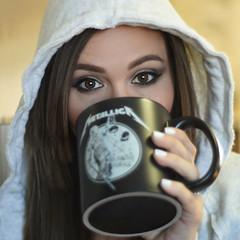 This morning.... (DyeDye) Tags: selfportrait nikond7200 me thismorning coffee needthecoffee 50mm windowlight goodmorning anyexcusetosaynipples nipples
