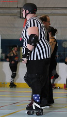 IMG_8263 crop 1 (KORfan) Tags: rollerderby barbedwirebetties cabinfeverscrimmage referees officials