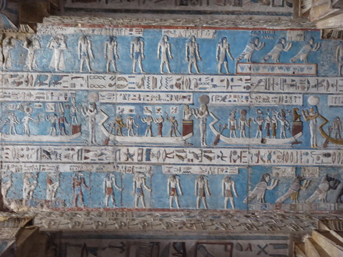 Decorated Ceiling, Dendera Temple