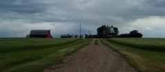 Homestead   Prairie Pioneers ... (Mr. Happy Face - Peace :)) Tags: sky homestead pioneer 1900 barn architecture bechthold cloud farming grain foodbasket levelland beiseker albertabound canada canada150 farmstead art2018 scenery prairies