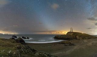 'Zodiacal Light' - Llanddwyn Island, Anglesey