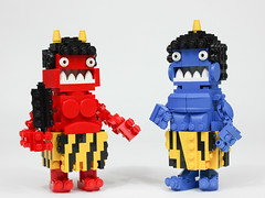 Jigoku no oni (Gzu's Bricks) Tags: lego gzu bricks oni japan japon nihon demon jigoku enfer hell ogre japonais moc brickpirate bpchallenge