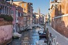 (James Whitlock Photography) Tags: europe italy venice city lagoon canal bridge stone colour pastels gondola speedboat blue sky nikon d810 lee filters gitzo