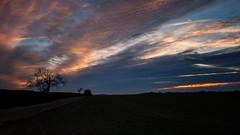 Late Afternoon (davepickettphotographer) Tags: sky clouds cambridgeshire huntingdonshire olympuscamera kimbolton kimboltonvillage greatstaughton skies sunset stonely