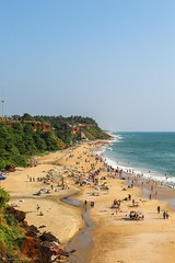 Varkala Beach,Kerala (Gautham Karthik) Tags: kerala trivandrum varkala beach cliff india