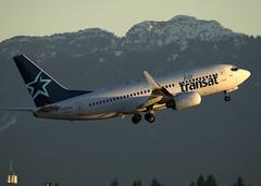 C-FTQK_737-73V_TSC_CYVR_6047 (Mike Head - Jetwashphotos) Tags: boeing 737 737700 73773v ts tsc airtransat yvr cyvr richmond bc britishcolumbia canada westerncanada westernregion