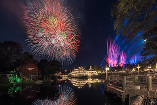Fireworks, Reflections & Lasers