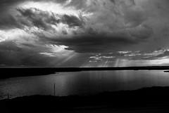 R1-013-5 (David Swift Photography) Tags: davidswiftphotography newjersey jerseyshore water rivers sunset nature clouds 35mm ilfordxp2 nikonfm2