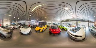 Mclaren Showroom 360°