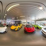 Mclaren Showroom 360° thumbnail