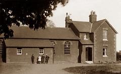 Canewdon School (footstepsphotos) Tags: canewdon school essex building exterior old vintage photograph past historic