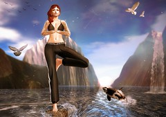 Master your breath, let the self be in bliss, contemplate on the sublime within you (Isabella Rumsford) Tags: mesh body maitreya head catya bento skin insol alena hair wasabi pills quinn top pants seniha sharona brapants available exclusively tres chic event 100 original pose sarisari yoga