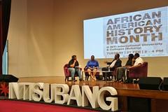 2018 African American History Month talk at INTI (United States Embassy Kuala Lumpur) Tags: 2018 black history month talk inti