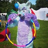 I got myself a colorful #piercing x3 #fursuiting #furry #silly (Keenora Fluffball) Tags: keenora fursuit furry kee
