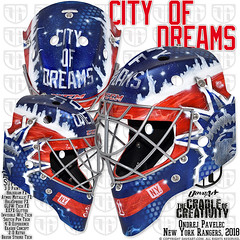 City Of Dreams (DAVEART MaskGallery) Tags: pavelec new york rangers nhl daveart