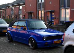1986 Volkswagen Golf Cabriolet 1.6 (rvandermaar) Tags: 1986 volkswagen golf cabriolet 16 volkswagengolf vwgolf volkswagengolfcabrio vwgolfcabrio golfcabrio golfi i volkswagengolfi vwgolfi sidecode5 pjpt66