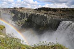 Cascade de Dettifoss  Islande (jc.dazat) Tags: cascade dettifoss islande arcenciel paysage landscape waterfall photo photographe photographie photography canon jcdazat