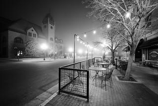 Predawn Fog - Pueblo Union Depot