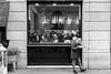 Facce da Spontini (MaxDeVa) Tags: 8lenti leica monochrom milano f2 blackandwhite summicronm bw 35mm 8elements yellowfilter streetphotography pizza people
