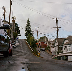 Crockett, California (bior) Tags: crockett hill street road steep square kowa6 kowasix kowa kodakportra portra160vc mediumformat 120 california sanfranciscobayarea