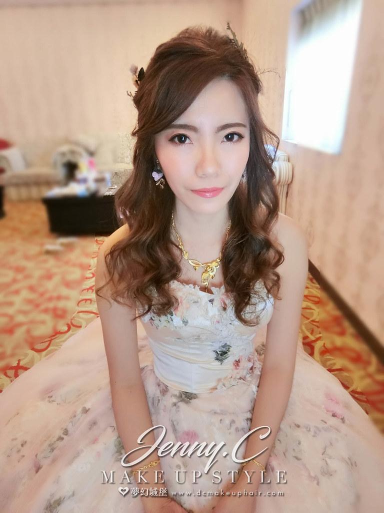 【新秘蓁妮】bride小蘇 訂結婚造型 / 台中金華屋婚宴會館