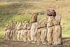 Ahu Tongariki, Easter Island (Linda Martin Photography) Tags: ahutongariki chile pacificocean easterisland statues southamerica isledelapascua moai rapanui