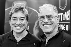 Guy Kawasaki and Scott Jordan, Silicon Valley Comic Con, 2016 (Thomas Hawk) Tags: america california comiccon comicconsiliconvalley conventioncenter guykawasaki svcc svcc2016 sanjose sanjoseconventioncenter santaclaracounty scottjordan scottevest siliconvalleycomiccon usa unitedstates unitedstatesofamerica bw fav10