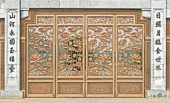 Gate at Bai Dinh Pagoda (ronniegoyette) Tags: ninhbinh northvietnam bai dinh pagota