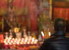 Prayers @ San Tze Pak Tai Temple (Pexpix) Tags: dof candle belief praying smoke pray male shamshuipo man bokeh josssticks temple prayer placeofworship hongkong kowloon hk 攝影發燒友