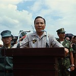Hue 15 Oct 1969 - President Thieu speaks at mass funeral thumbnail