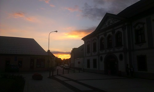 evening in Zvolen