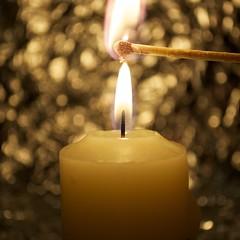 flame on (ladybugdiscovery) Tags: flame candle light macro