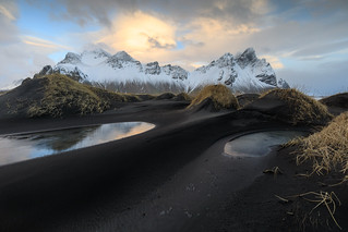 The dunes at Stokksnes, Iceland
