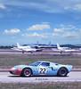 1969 Sebring 12 Hour - Ickx/Oliver Gulf GT40 (Nigel Smuckatelli) Tags: flaglerbeachjune2016 1969 1969sebring12hourgrandprix gt40 jwautomotive jackyickx jackieoliver gulf gulfgt40