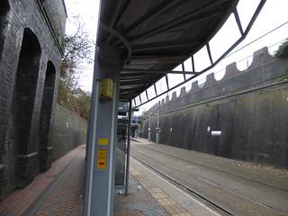 Bilston Central Tram Stop - shelter platform 1