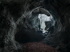 caveman (Fratercula arctica) Tags: cave cäciliengrotte hirschbach fränkische franken schweiz franconian switzerland frankenjura portrait landscape snow winter epic luminositiy mask gimp lightroom d5300 10mm stacking