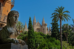 Kathedrale von Palma (Peter Goll thx for +13.000.000 views) Tags: 2014 mallorca urlaub palma kirche d800 nikon nikkor kathedrale church skulptur