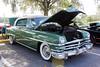1953 Chrysler New Yorker Deluxe (StevenM_61) Tags: carshow car automobile chrysler newyorker hardtop 1953 parkinglot trees hernando florida unitedstates