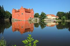 Červená Lhota (ZdenHer) Tags: zámek chateau water sky nikon reflection