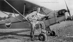 Dad & J3 Cub c1944 (Greg Reed 54) Tags: wwii worldwarii j3 pipercub cub l4 aircraft grasshoppers flight flighttraining j3cub piperj3cub aviation pilot