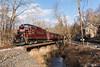 Same Bridge, Different Day (Dan A. Davis) Tags: newhopeivyland newhopeandivylandrailroad nhi newhope buckscounty pa pennsylvania railroad passengertrain locomotive gp30