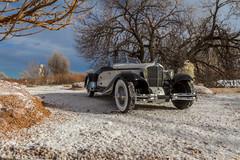 Heavy Metal Power Cord (Ken Hendricks and Larry Patchett) Tags: automodello 1930 cord l29 brooksstevens speedster 124scale resin model car