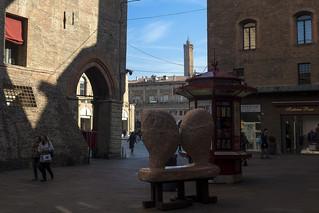 Bologna (Italy) - Via IV Novembre
